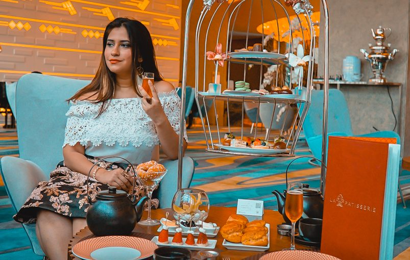 The exquisite Bird cage Afternoon Tea