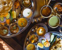 A delicious take on the Indian Thali